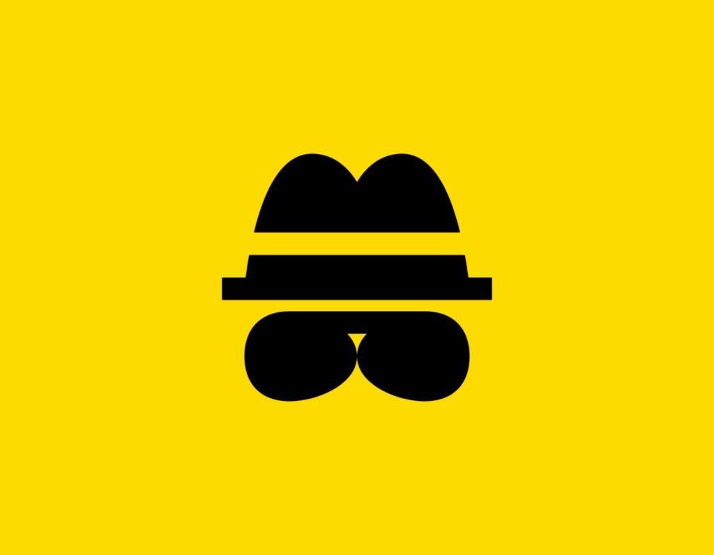Դօրիանի «Հյուրընկալ ես, անշուշտ» բանաստեղծությունը։ Black hat and glasses on a yellow background.